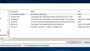 MSINFO32 – Hardware und Systeminformationen umfangreich mit Windows Boardmitteln auslesen