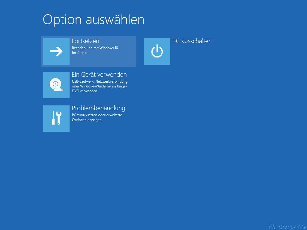 Windows 10 im abgesicherten Modus starten » Befehl, Boot, Mode ...