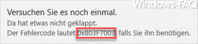 0x803F7003-deutsche-Fehlermeldung