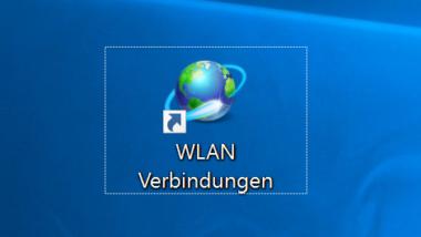 Kurzbefehl zum Anzeigen der WLAN Verbindungen unter Windows 10