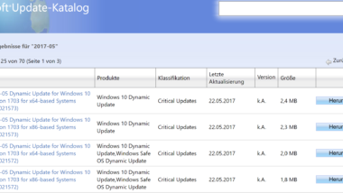 KB4021572 und KB4021573 für Windows 10 Version 1703 Creators Update erschienen