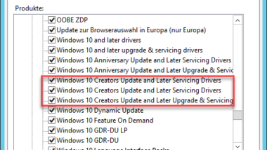 Windows 10 Creators Update per WSUS verteilen