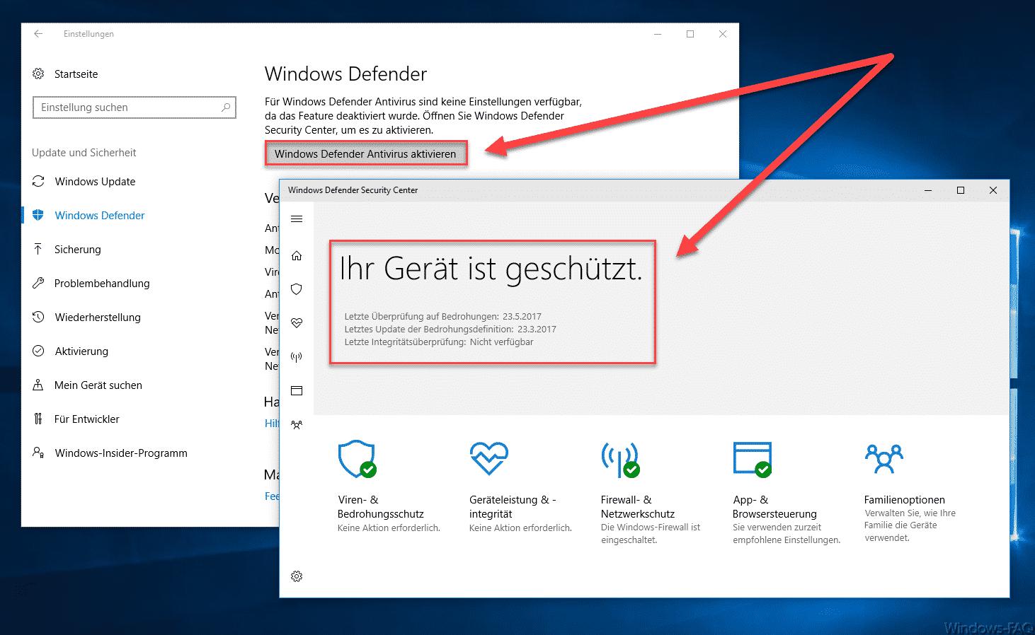 Windows-Defender-Antivirus-aktivieren-Ihr-Gerät-ist-geschützt