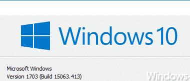 KB4022725 für Windows 10 Version 1703 Creators Update (Build  15063.413 und 15063.414)