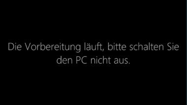 Animation bei der ersten Windows 10 Anmeldung deaktivieren