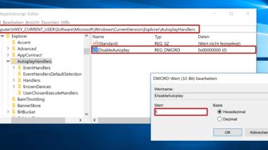 Autoplay bei Windows 10 deaktivieren