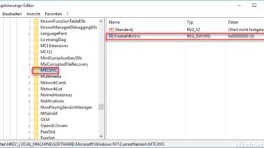 Lautsprecher Symbol in Windows 10 Taskleiste anzeigen lassen