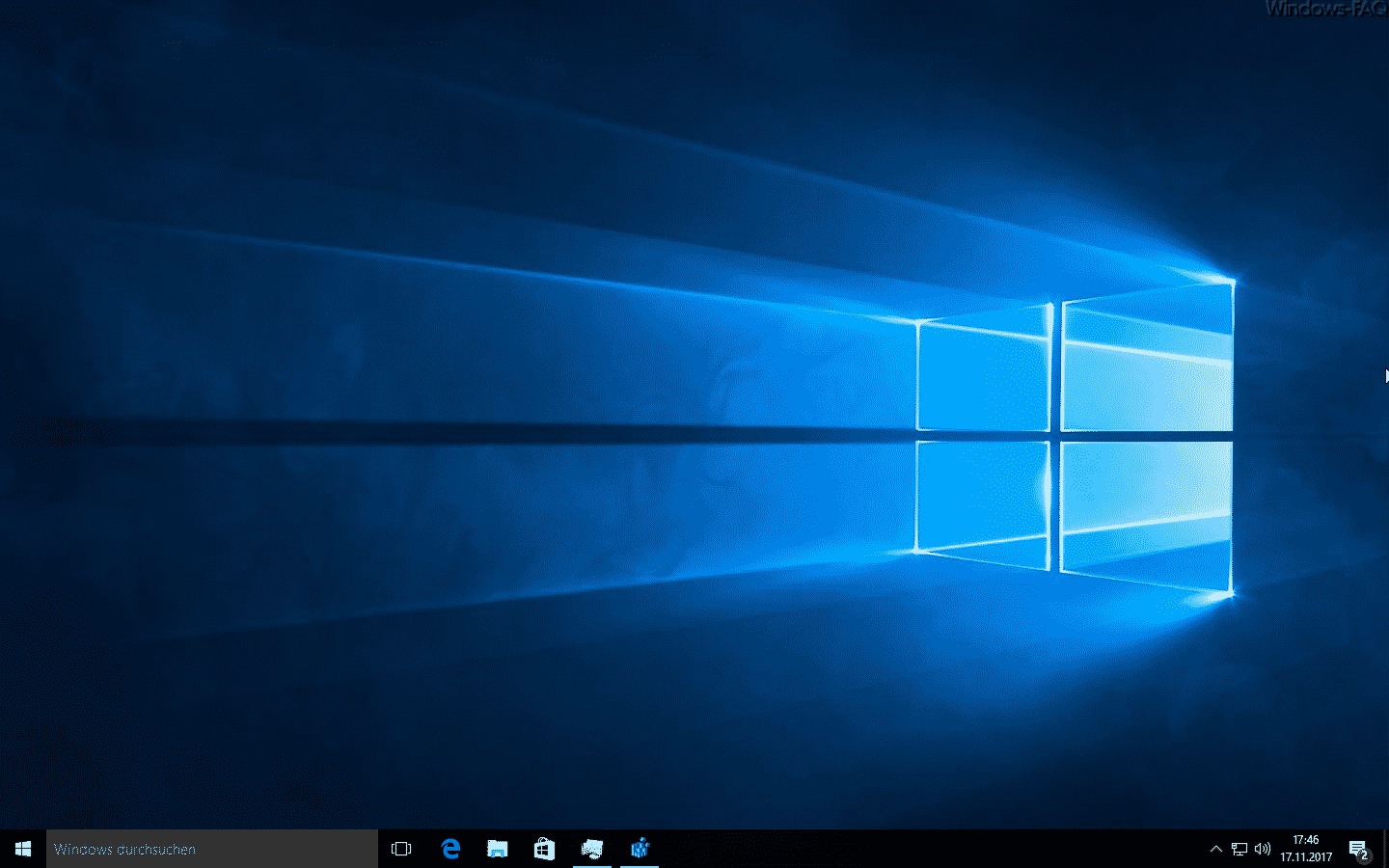 Windows 10 Desktop ohne Symbole