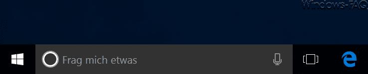 Cortana Frag mich etwas