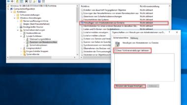 Rechte zum Hinzufügen von Windows Clients zur Domäne einschränken