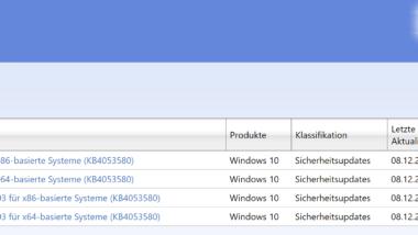 Update KB4053580 Windows 10 1703 Creators Update Download Build 15063.786