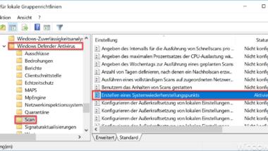 Tägliche Systemwiederherstellungspunkte bei Windows erstellen