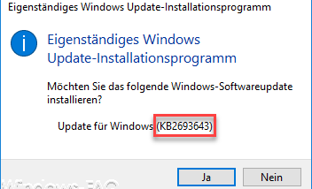 RSAT Tools für Windows 10 Fall Creators Update 1709 (KB2693643) incl. DNS-Manager