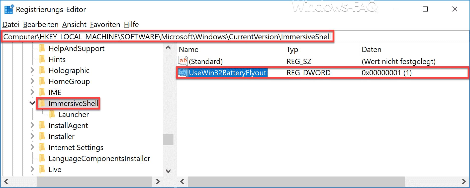 UseWin32BatteryFlyout