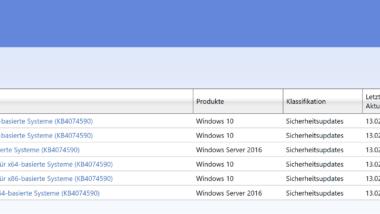 KB4074590 Download Windows 10 1607 Creators Update Build 14393.2068