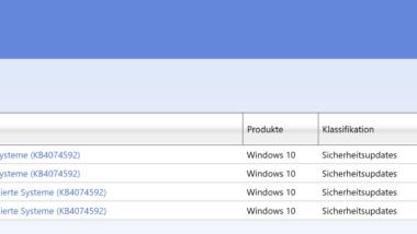 KB4074592 Download für Windows 10 1703 Creators Update Build 15063.909