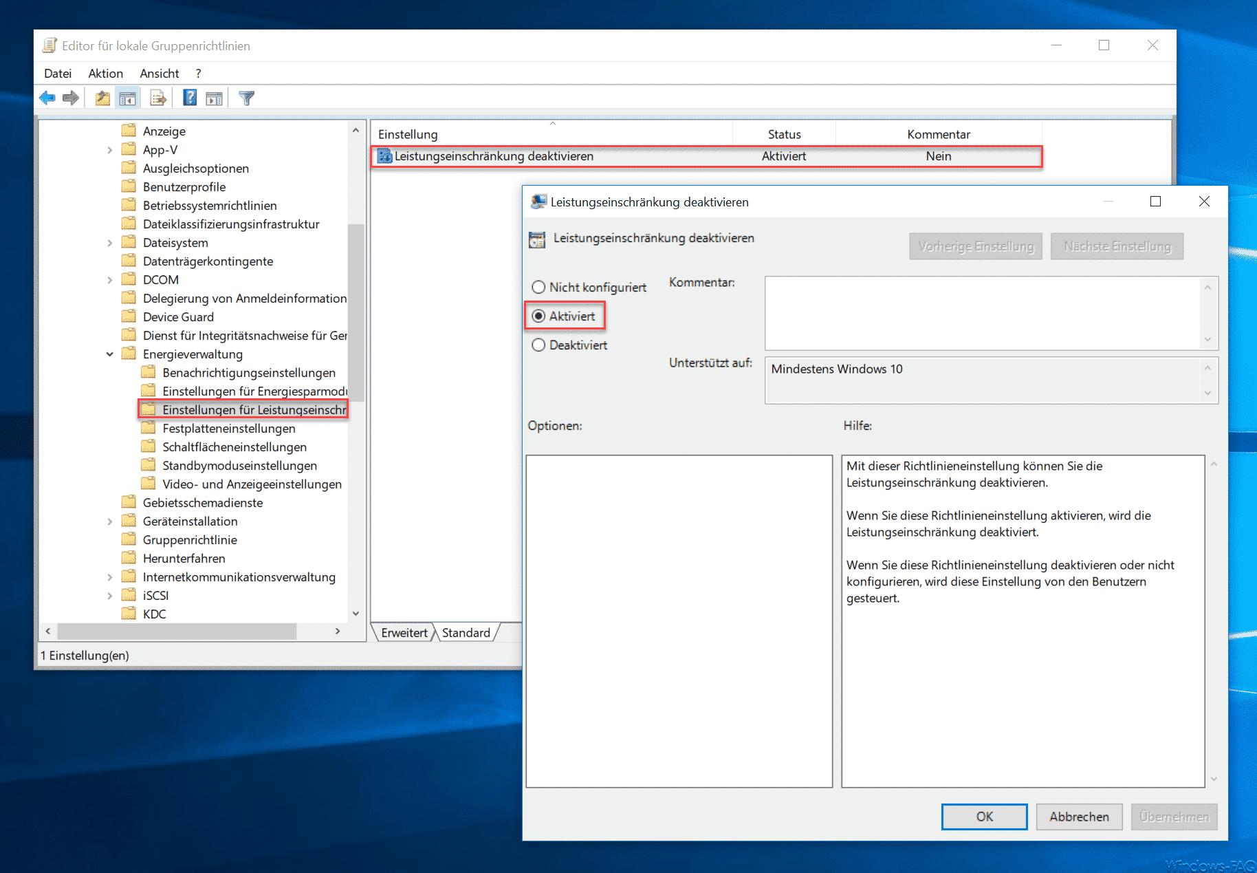 Windows 10 schnellstart funktion ausschalten