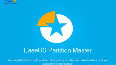 EaseUS Partition Master 12.9 Vorstellung incl. Gewinnspiel