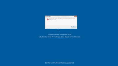 Windows kann nicht für die Ausführung auf der Hardware dieses Computers konfiguriert werden