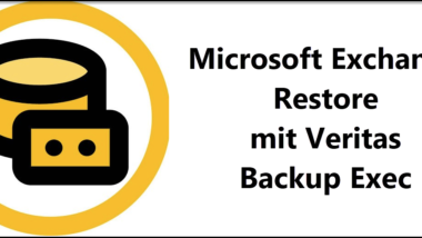 Restore Exchange Server mit Veritas BackupExec