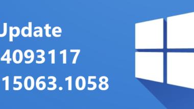 KB4093117 für Windows 10 1703 und KB4093120 für 1607 erschienen – Download