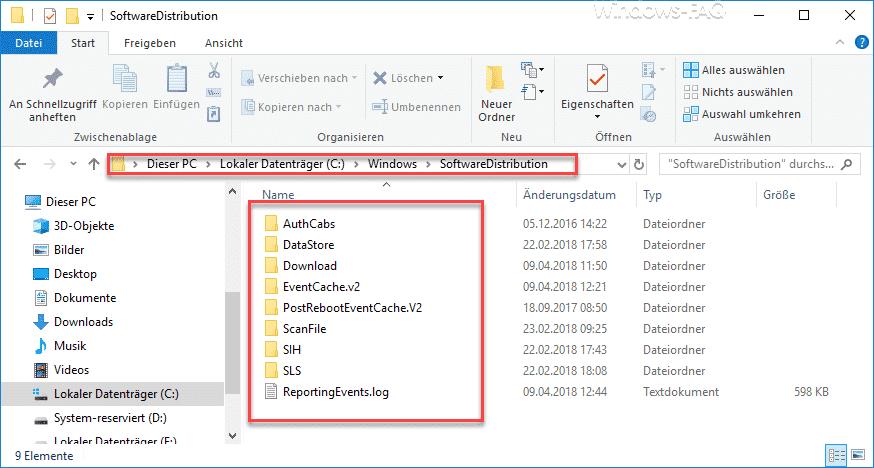 WINDOWS Softwaredistribution