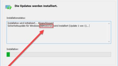 KB4103721 Update für Windows 10 Version 1803 Download 17134.48