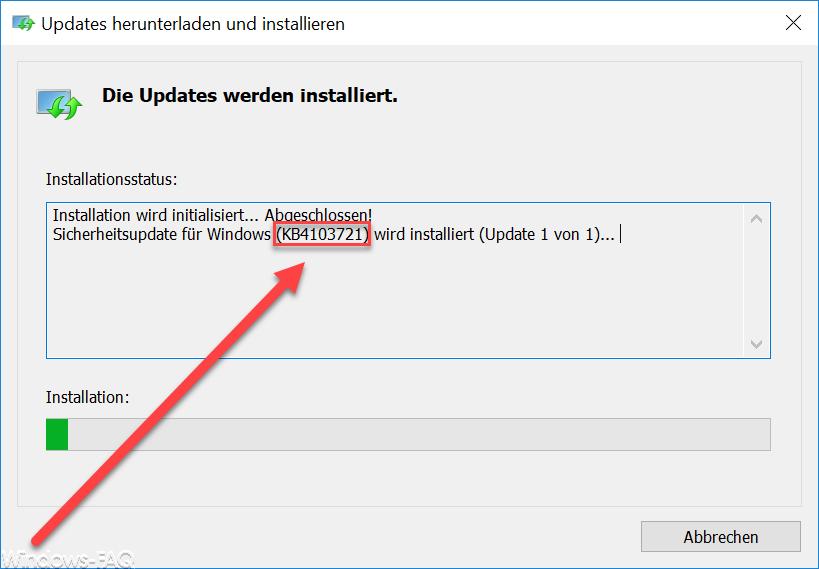 KB4103721 Update für Windows 10 Version 1803 Download