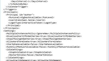 Robocopy Task laufen über die Aufgabenplanung (Taskplaner) langsamer als normal