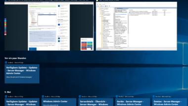 Taskansicht (Timeline) aus Windows 10 Taskleiste entfernen