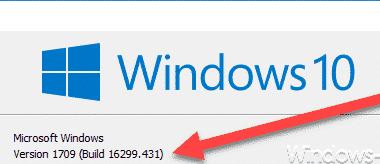 KB4103727 Download für Windows 10 Version 1709 Build 16299.431