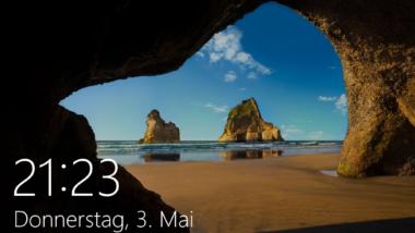 Windows 10 Lockscreen (Sperrbildschirm) per Registry deaktivieren