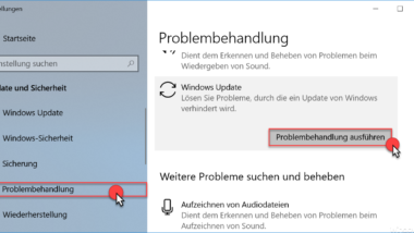 Windows Update Fehlercode 0x80244007