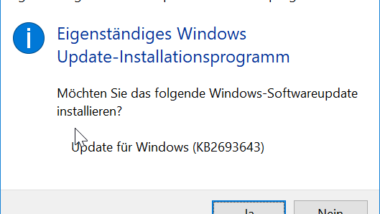 RSAT 1803 Tools Download für Windows 10