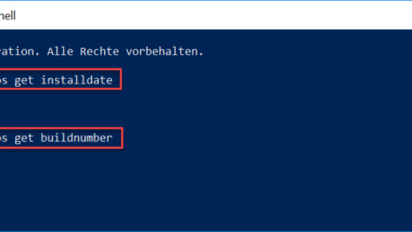 Windows Installationsdatum auslesen