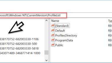 Windows User SID (Sicherheitskennungen) von allen Usern auslesen