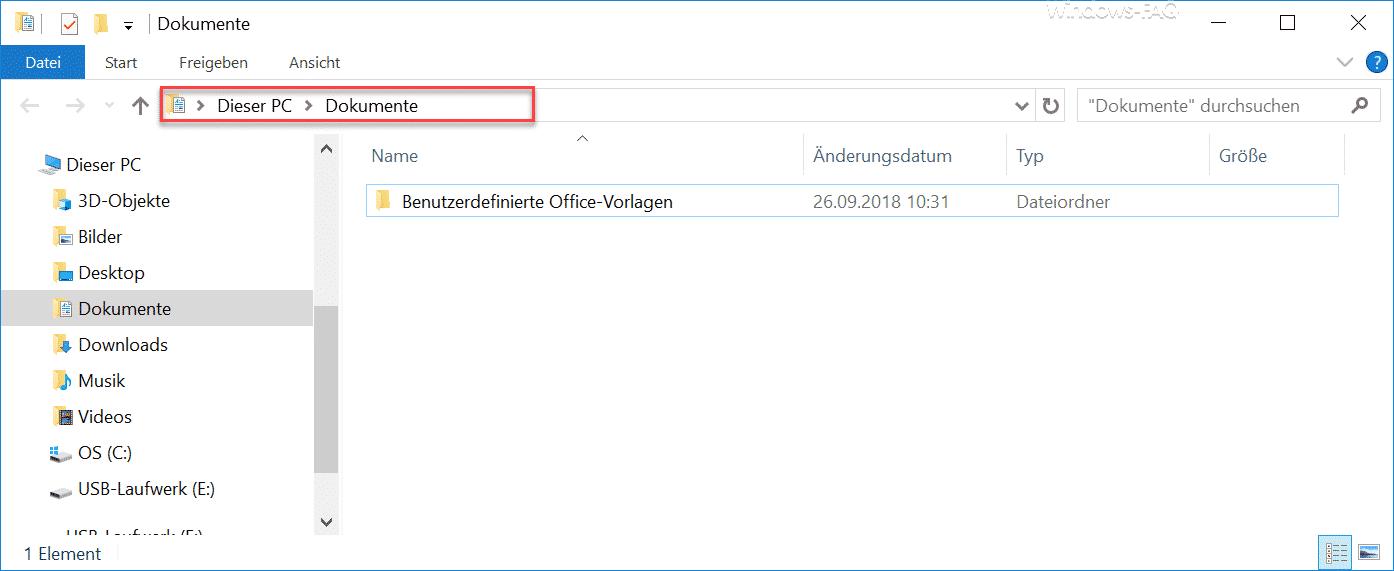 Dieser PC Dokumente