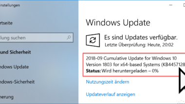 KB4457128 für Windows 10 Version 1803 Build 17134.285 Download