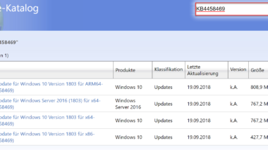 Windows 10 Updates KB4458469, KB4457136 und KB4457141 für Windows 10
