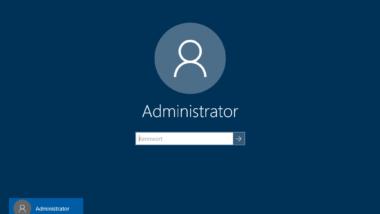 Hintergrundbild im Windows 10 Anmeldebildschirm abschalten und einfarbig darstellen