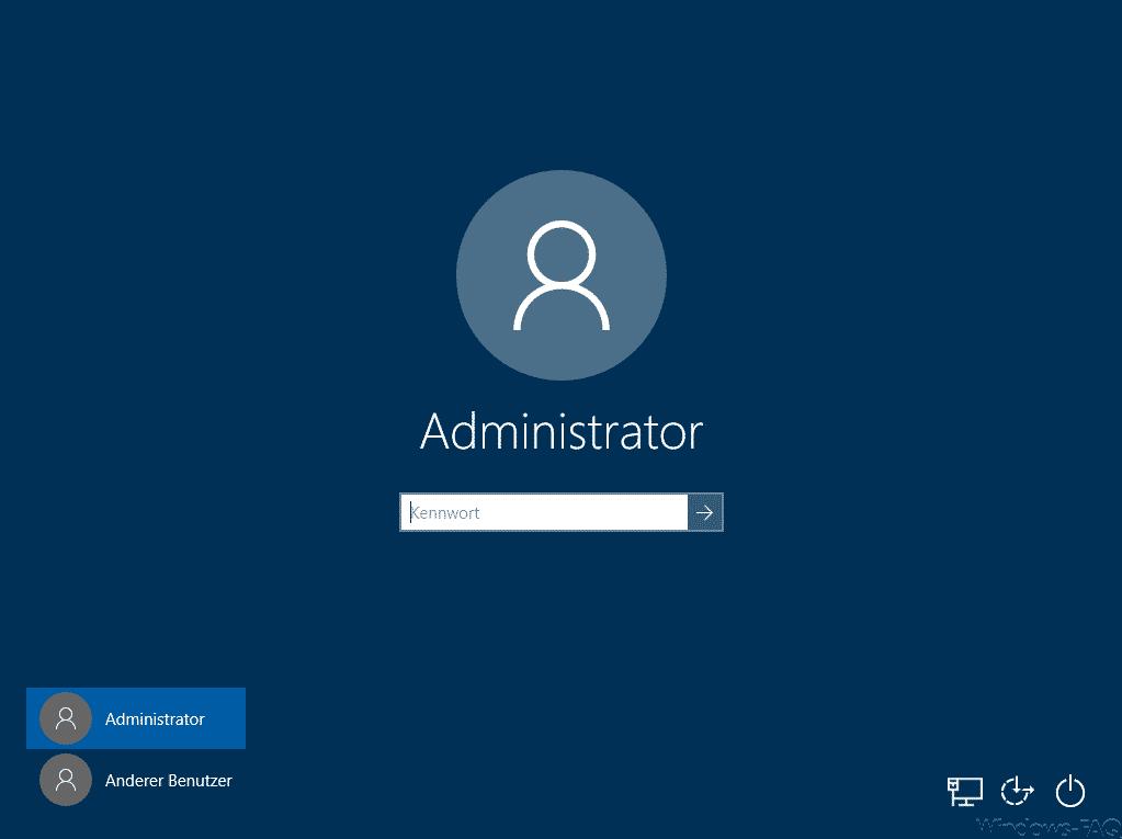 Windows 10 Sperrbildschirm ohne Hintergrundbild