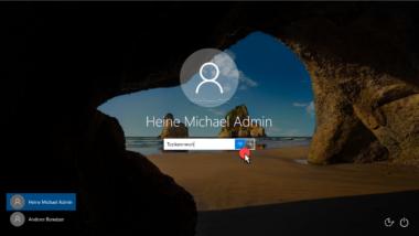 Schaltfläche zum Anzeigen des Windows Kennwortes bei Windows 10 ausblenden