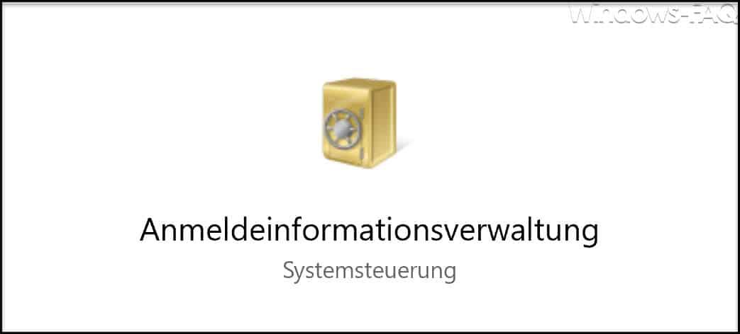 Anmeldeinformationsverwaltung