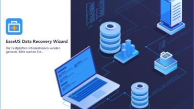 EaseUS Data Recovery Wizard 12.0 zum Wiederherstellen von gelöschten Daten