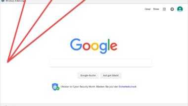 Beim Start vom Edge Browser mehrere Webseiten automatisch laden