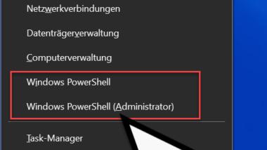 Die schnellsten Wege um die PowerShell Konsole zu starten