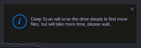 iBeeSoft Data Recovery Wizard Deep Scan