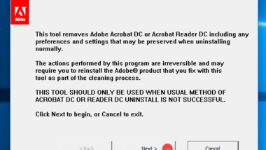 Adobe Acrobat Reader schließt sich sofort nach dem Öffnen wieder