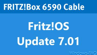 Fritz!OS 7.01 für AVM Fritz Box 6590 Cable
