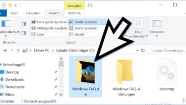Individuelle Windows 10 Ordnerbilder erstellen